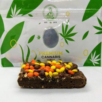 reeses premium edible brownie